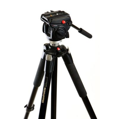 Manfrotto 055XB + HDV701油壓雲台
