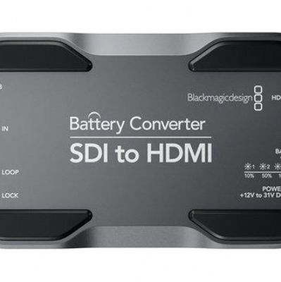 BMD Battery Converter SDI to HDMI 訊號轉換器